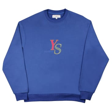 Yardsale YS Marble Crewneck - Blue