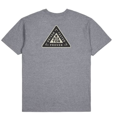 Brixton Fulcrum T-Shirt - Heather Grey