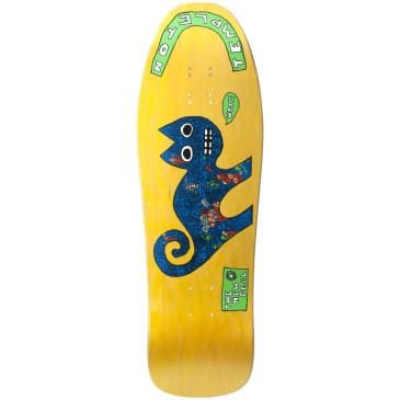 """New Deal Templeton Cat SP Deck 9.75"""" Yellow"""