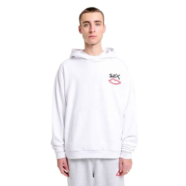 Sex Skateboards Back Print Hood - White