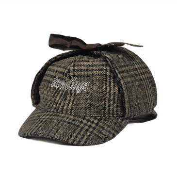 Tuesdays Exploration Deer Stalker Hat Tweed