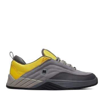 DC Williams Slim S Skate Shoes - Grey / Yellow