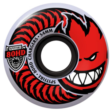 SPITFIRE 54mm 80HD Chargers Classic Wheels (Clear)