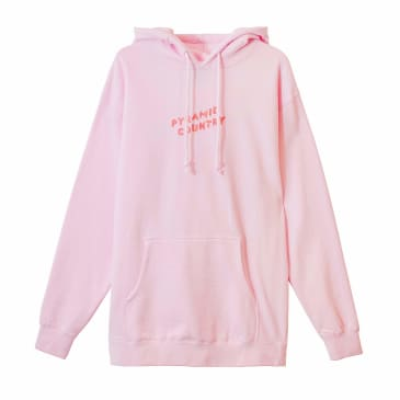 PYRAMID COUNTRY CLAY & CLAY HOODIE - PINK