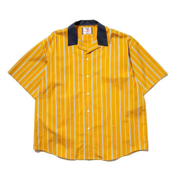 Son Of The Cheese - Stripe Cleric Shirt