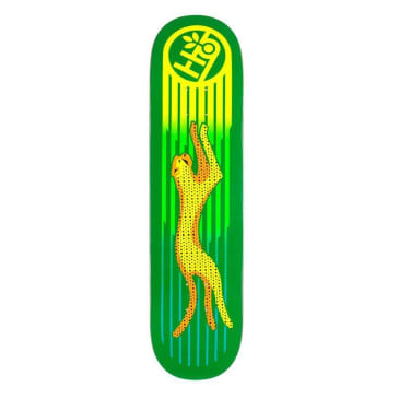 Habitat Skateboards Neon Cheetah Skateboard Deck - 8""