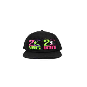 "CHINATOWN MARKET - ""2020 VISION 5 PANEL CAP"" (BLACK)"