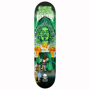 "Death Skateboards - Richie Jackson Deck Smoke & Mirrors Deck 8.1"" Wide"