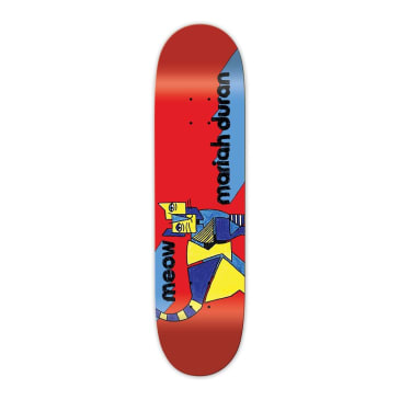 Meow Skateboards Mariah Duran Kip Deck In 7.75