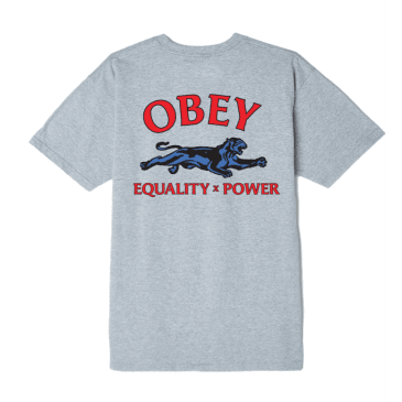 Obey - Equality X Power T-Shirt - Heather Grey