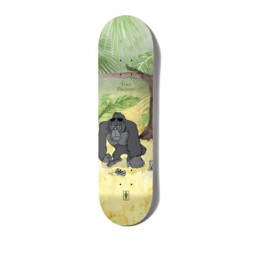 "Girl Skateboards - 8.375"" Tyler Pacheco Jungle Beers One Off Skateboard Deck"
