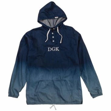 DGK Harbor Woven Hooded Jacket - Denim