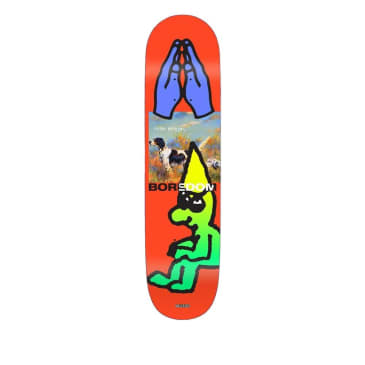 Quasi Wilson Bored Skateboard Deck - 8.25""