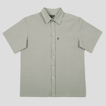 """PASS~PORT """"WORKERS"""" SHIRT S/S GREY"""