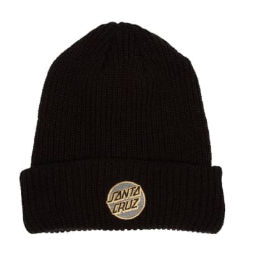 SANTA CRUZ Missing Dot Beanie Black