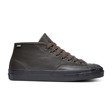 Converse Cons Jack Purcell Pro Mid Jake Johnson Skateboarding Shoe - Beluga/Black/Black