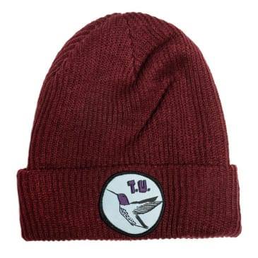 Transportation Unit Humming Bird Beanie Maroon