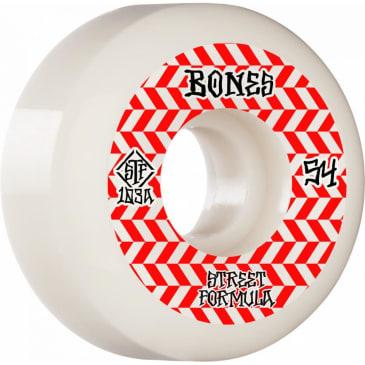 Bones - 54mm Patterns STF V5 103a Sidecut Skateboard Wheels