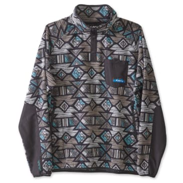 Kavu - Teannaway Pullover Fleece Jacket - NW Basin