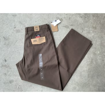 Vans Chino Glide Pants Brown