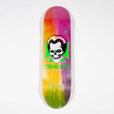 """Birdhouse David Loy Skull Rainbow Deck - 8.38"""""""