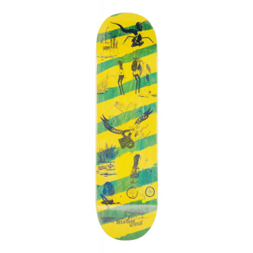 "Creature Skateboards - 8.6"" Snake Barf Deck"