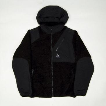 Huf - Aurora Tech Fleece Jacket - Black
