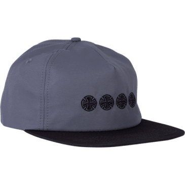 Independent - Chain Cross Hat ADJ Charcoal/Black