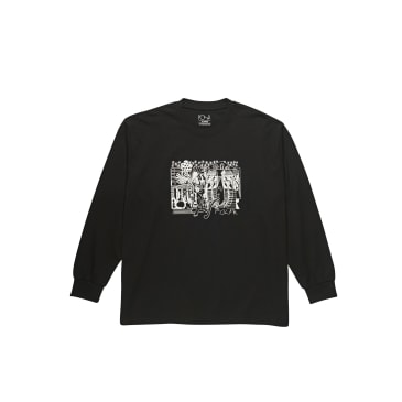 Polar Skate Co TK Long Sleeve Shirt - Black