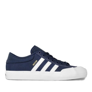 adidas Skateboarding Matchcourt Nestor Shoes - Navy / White