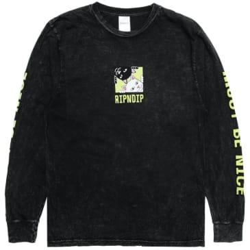 Ripndip - Rip N Dip Besties Long Sleeve T-Shirt | Black