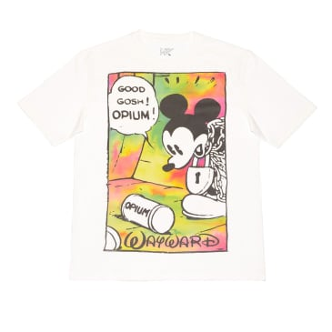 Wayward Opium Flash T-Shirt - White