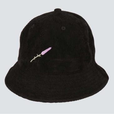 Pass~Port Lavender Bucket Hat - Black
