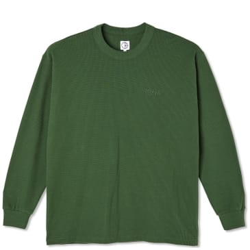 Polar Skate Co Shin Long Sleeve - Hunter Green