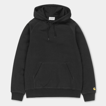 Carhartt WIP Hooded Chase Sweatshirt Black
