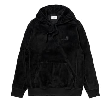 Carhartt WIP Hooded United Script Sweatshirt - Black