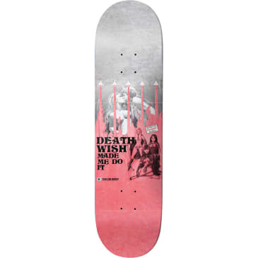 Deathwish Kirby Made Me Do It Deck 8.25