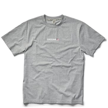 Droors Clothing Mountain T-Shirt - Heather Grey