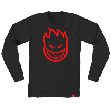 Spitfire Bighead Long Sleeve (Black)