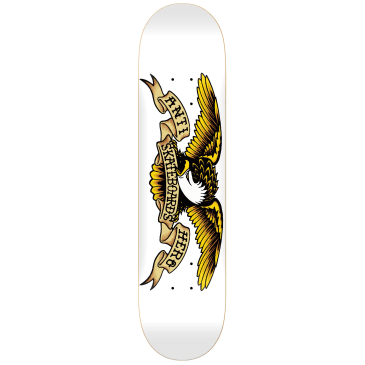 Anti Hero Classic Eagle Skateboard Deck White - 8.75""