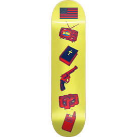 Blind American Icons Deck 8.0 Yellow