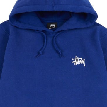 Stussy Basic Blue Hoodie