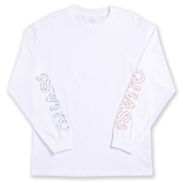Quasi Les Long Sleeve T-Shirt - White