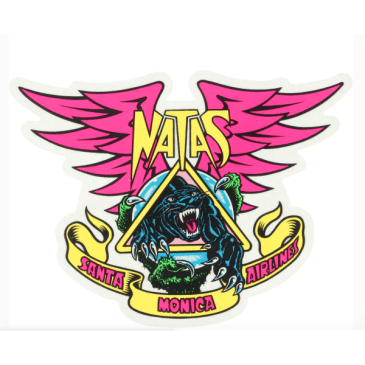 Santa Cruz SMA Sticker Natas Panther