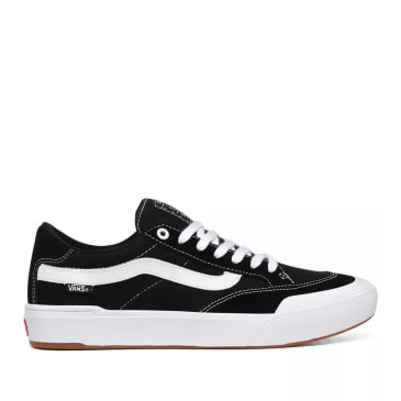 Vans Berle Pro Skate Shoes - Black / True White