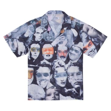 Fucking Awesome Jersey Mesh Club Shirt - Faces Collage