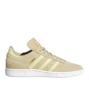adidas Skateboarding Busenitz Shoes - Savannah / Yellow Tint / Cloud White