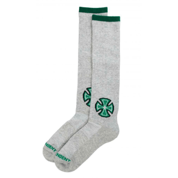 Independent - Bar Cross Primary Socks - Athletic Heather
