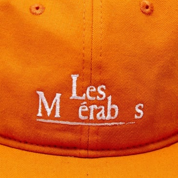 Isle Skateboards - Les Mis 6 panel orange hat