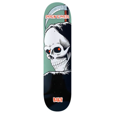 Baker Skateboards Reynolds Reaper 1 Skateboard Deck - 8.25